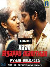 Watch Naan Sigappu Manithan (2016) DVDRip Hindi Dubbed Full Movie Watch Online Free Download