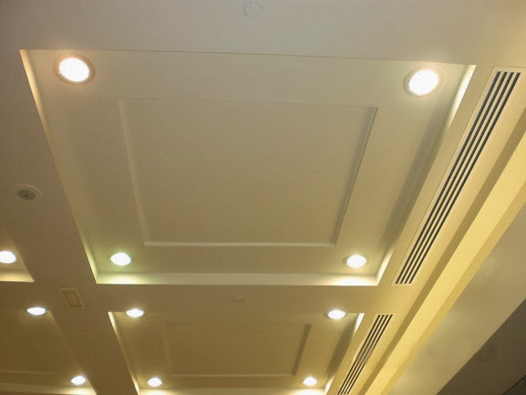 60 different ceiling design bahay ofw for Ceiling lights for living room philippines