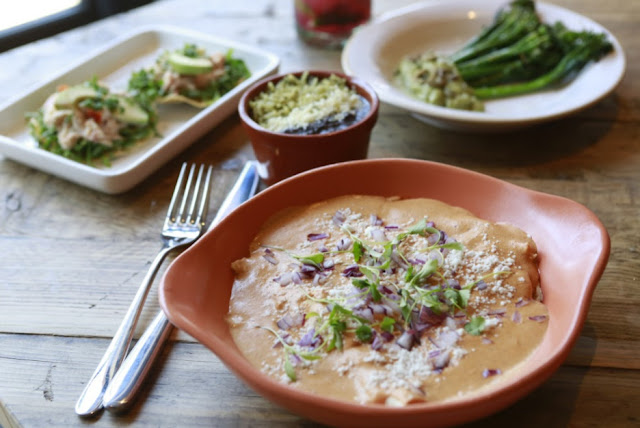 Fresh and filling options from Wahaca