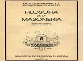 FILOSOFIA DE LA MASONERIA
