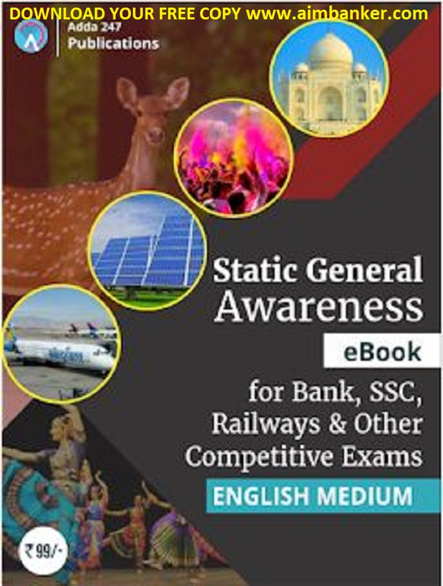 Sbi poclerk 2018 study material i aimbanker static gk for bank exams static gk e book adda247 free download pdf fandeluxe Image collections