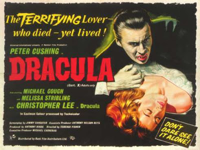 Dracula, Terence Fisher, Vampire films, Horror films, Vampire movies, Horror movies, blood movies, Dark movies, Scary movies, Ghost movies