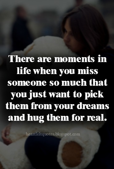 Quotes of missing someone special