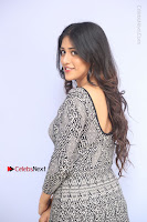 Actress Chandini Chowdary Pos in Short Dress at Howrah Bridge Movie Press Meet  0074.JPG