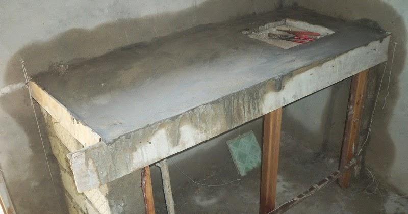 Cara Membuat Meja Dapur Cor Dengan Model Terbaru  Rumah
