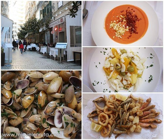 Gastronomía-Málaga