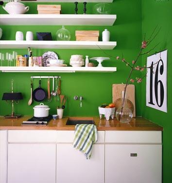 Marta Decoycina Decorar La Cocina En Verde