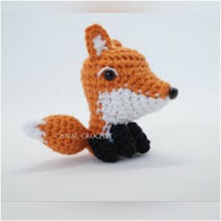 patron amigurumi Zorrito canal crochet