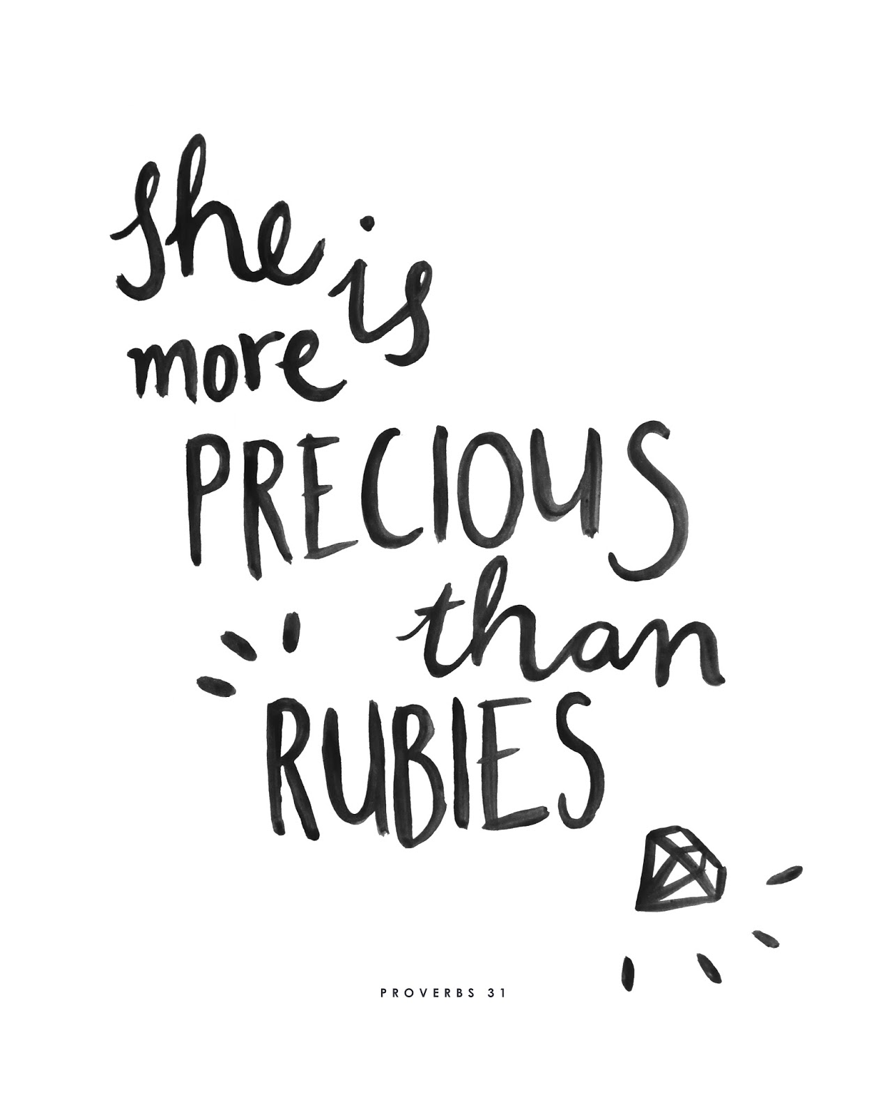 Brush Script Art Prints with Inspirational Quotes
