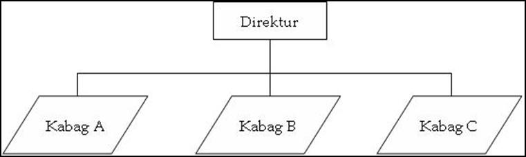 Indrabayu januari 2018 umumnya organisasi yang memakai struktur ini adalah organisasi yang masih kecil jumlah karyawannya sedikit dan spesialisasi kerjanya masih sederhana ccuart Choice Image