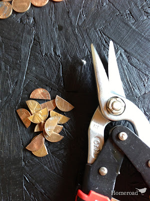 snips and cut pennies