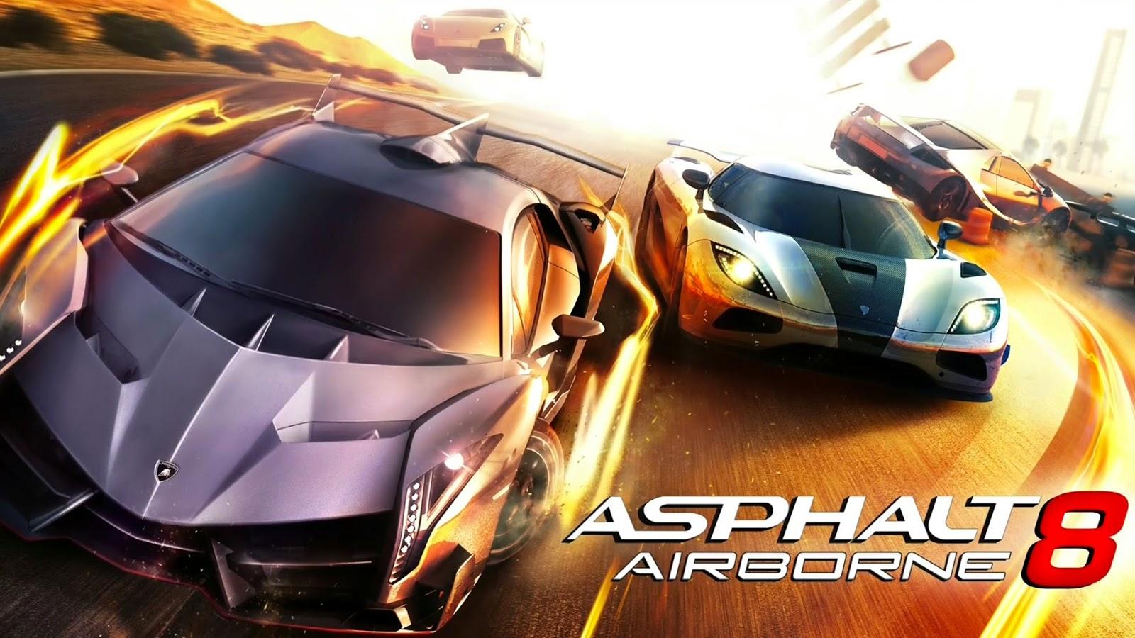Asphalt 8 Airborne For PC