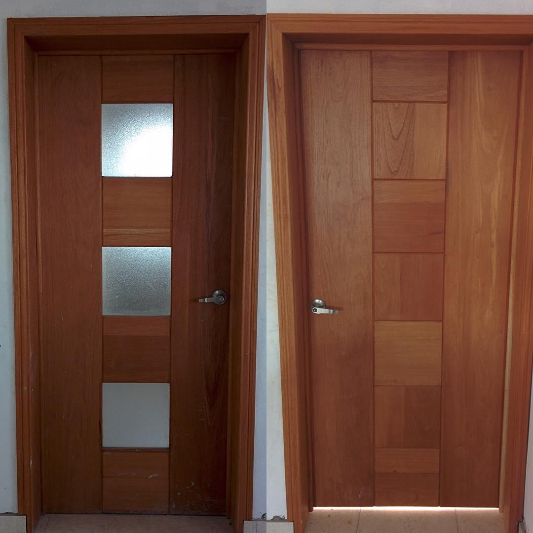 33 Model Kusen Pintu Minimalis Modern Terbaru 2018 - Model