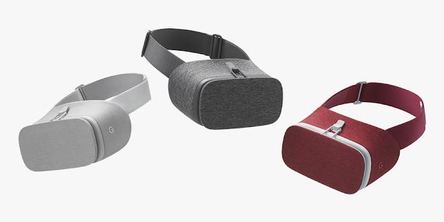 غوغل نظارة الواقع الافتراضي الجديدة Daydream View