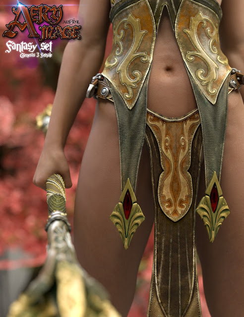 Aery Mage for Genesis 3 Female