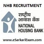 NHB Assistant Manager Recruitment 2019
