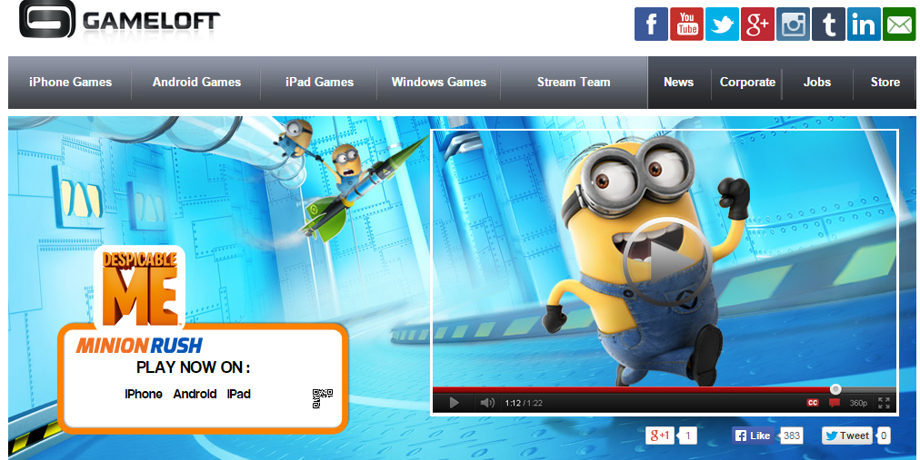 Download Gameloft App For Android Blackberry Iphone Ipad