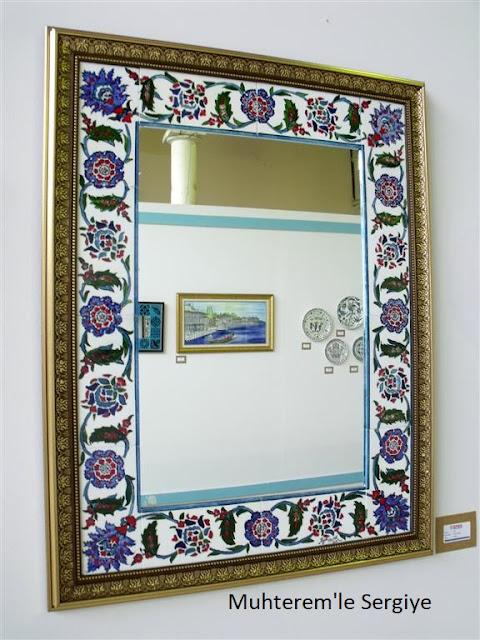 mirror tile art