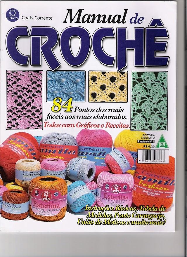 Manual De Crochê-Coasts Corrente
