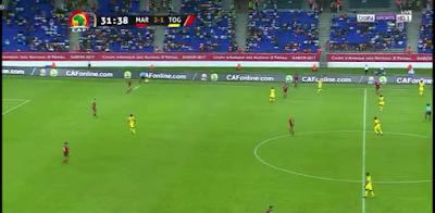 بالفيديو منتخب المغرب يحول الخسارة الى فوز مستحق بثلاثية مقابل هدف فى كاس الامم الافريقية