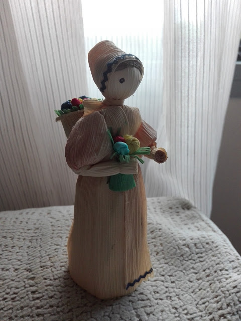 Muñeca tradicional hecha de caña (Bratislava) (@mibaulviajero)