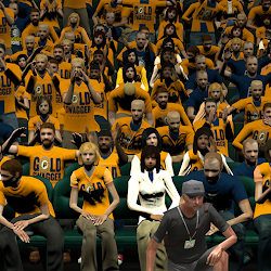 NBA 2K14 Indiana Pacers Playoffs Crowd Mod