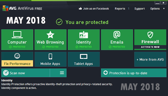 Avira Antivirus Pro May 2018 Features