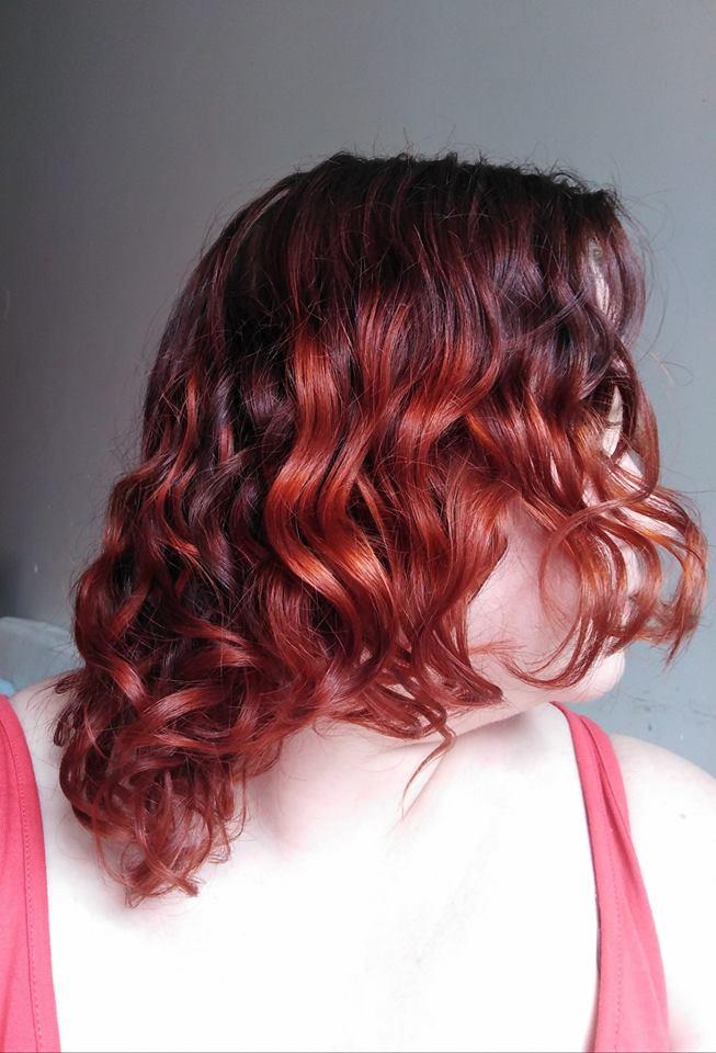 Codziennik włosowy - kilka GHD z marca