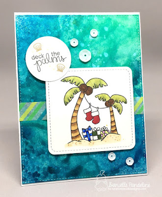 Sun Soaked Christmas | Newtons Nook Designs | Card Created by Danielle Pandelien