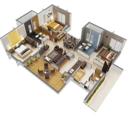 interior rumah kecil minimalis sederhana type 21 rumah