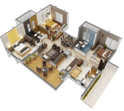 desain rumah minimalis type 21 1 lantai