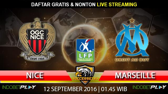 Prediksi Nice vs Marseille 12 September 2016 (Liga Prancis)