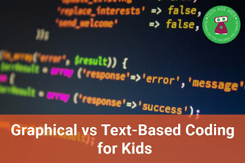 Whats the difference between Graphical & Text-Based Coding for Kids?