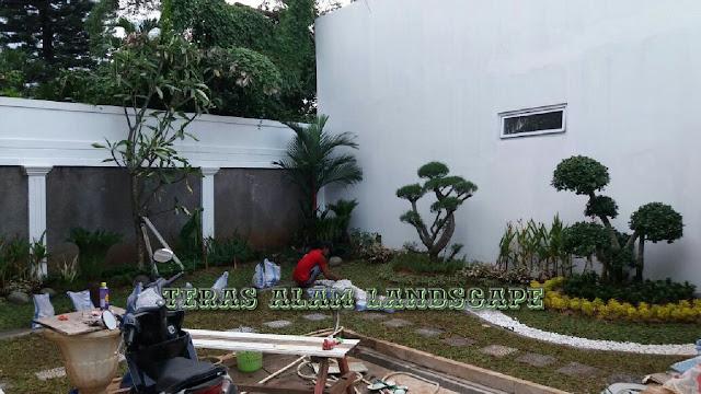 jasa pembuatan taman minimalis rumah pribadi tangerang