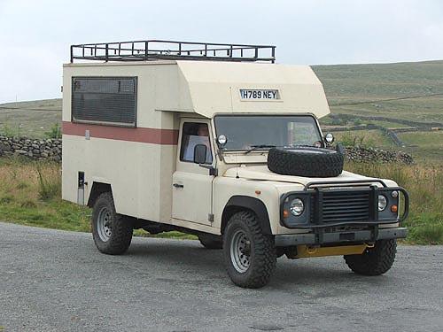 Land Rover Ambulance A Neat Alternative