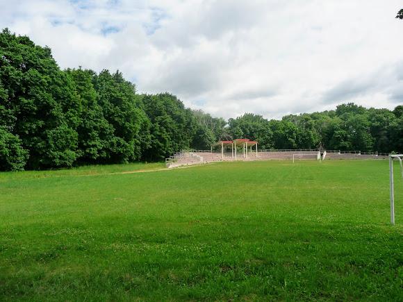 Батурин. Парк Кочубея. Стадион