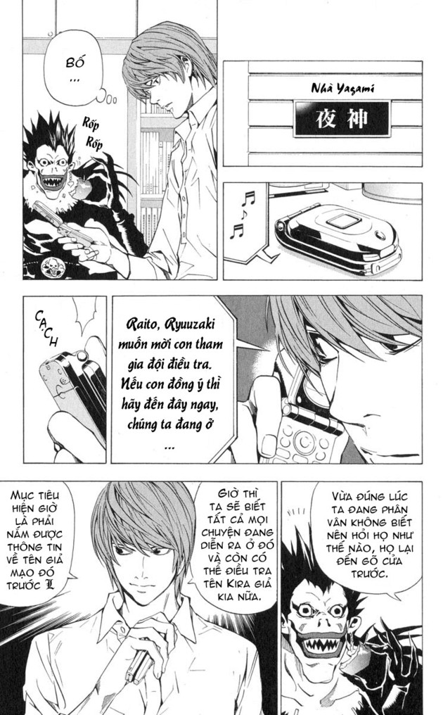 Death Note chapter 026 trang 9