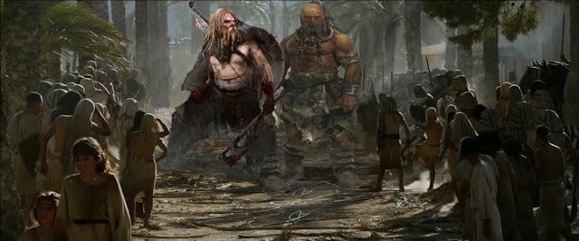 Livro dos gigantes encontrado no mar morto conta como os Nefilins foram exterminados da face da terra!