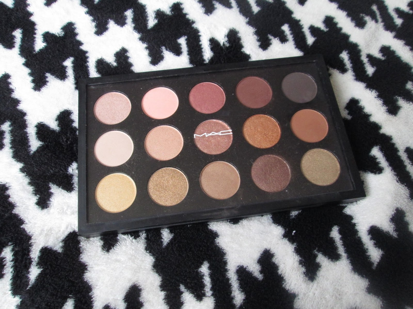 Made you look...: Mac Premade Warm Neutral Palette - Review...