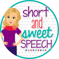 grab button for Short and Sweet Speech