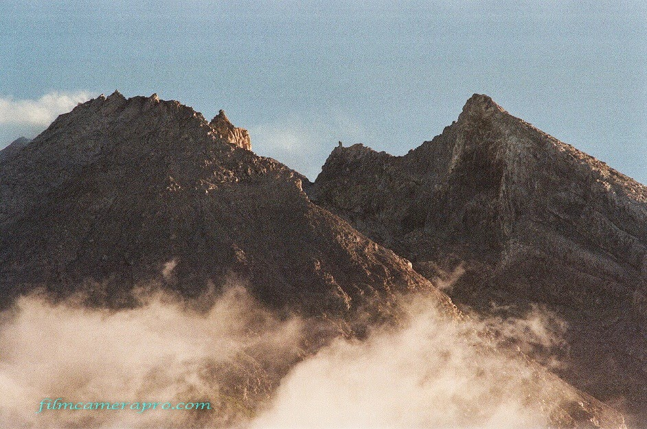 The Peak of Merapi