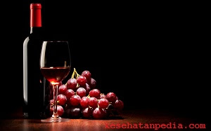 Manfaat red wine