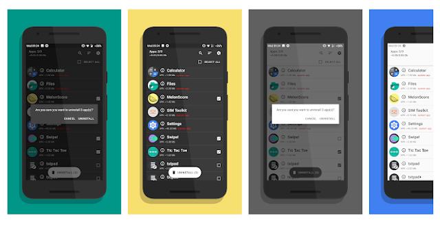 تطبيق UnApp لحذف التطبيقات التي تريدها بسرعة و زيادة المساحة الداخلية لهاتفك