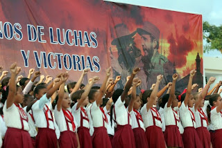 Cuban Children Communist Indoctrination