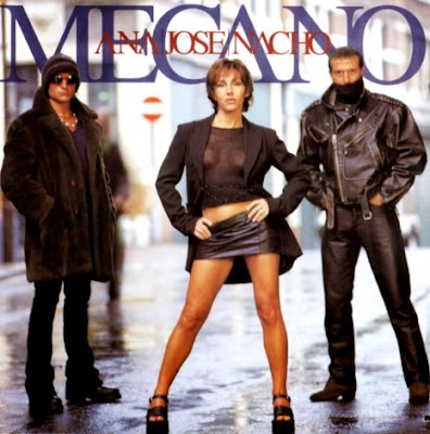 Foto de Mecano en portada de disco