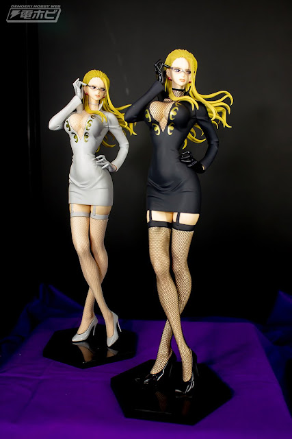 Materia Carifa × Glitter & Glamours White and Black dress de One Piece
