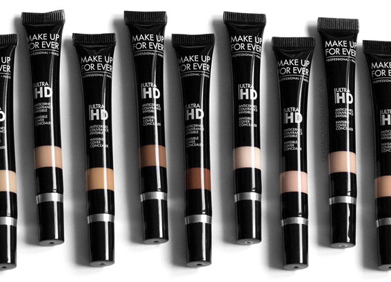 MUFE Ultra HD Invisible Cover Concealers Review Y21 Y23 Y31 Y33 Y41 Y49 Y51 R20 R22 R30 R32 R40 R50 R52