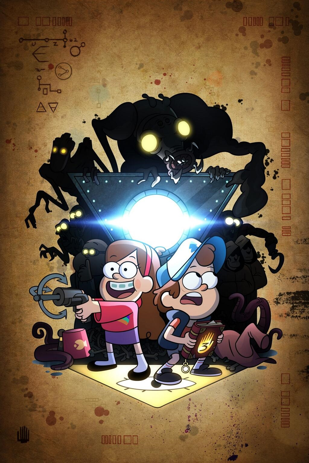 Gravity Falls Wallpaper Full Hd Viajar Leyendo Cr 237 Ticas Express Gravity Falls Es Una