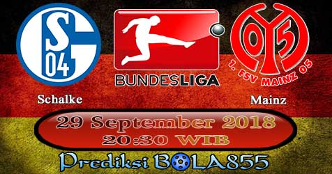 Prediksi Bola855 Schalke vs Mainz 29 September 2018