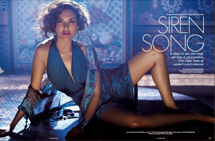 Esha-Gupta-in-a-Sexy-Beach-Dress-in-Turkish-Hamam-Bath